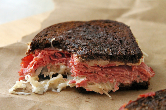 My Mother's Reuben Sandwiches