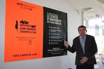Le centre universitaire Champollion veut devenir une université - Tarn - Le Tarn libre | Vers une université de plein exercice ? | Scoop.it