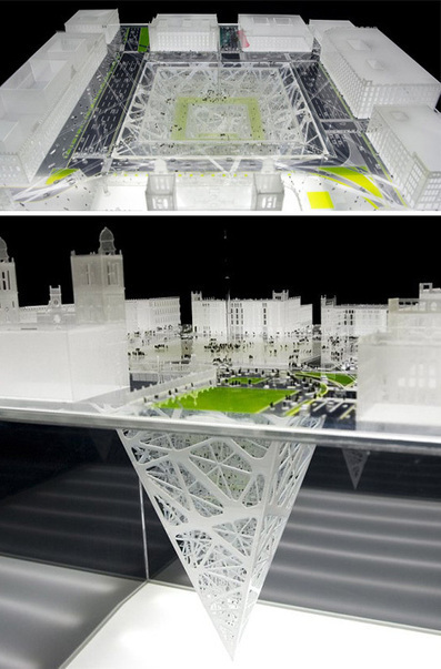 Earthscraper: Inverted Pyramid Spans 1000 Vertical Feet | WebUrbanist | Better Mobility, Living, Logistics, Infrastructure | Scoop.it