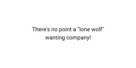 Lone wolf - (Phil draws + writes) | Comics | Scoop.it