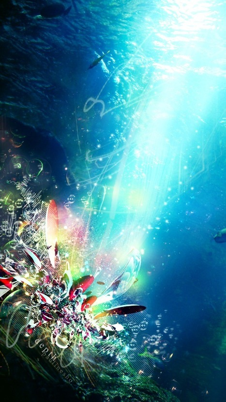Create an Abstract Underwater Scene in Photoshop | Photoshop Photo Effects Journal | Scoop.it