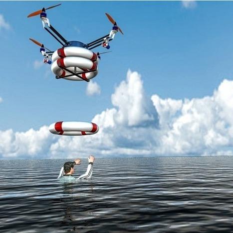 Iranian robotics lab works on ocean rescue drone   Amocean OceanScoops   Scoop.it