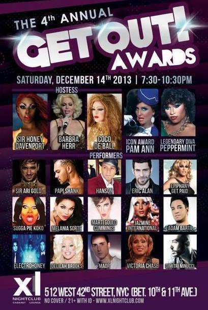Queens Our City Radio To Cover The 4th Annual Get Out! Awards  (December 14 – New York)   Queens Our City Radio Dance Music News   Scoop.it