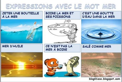 EXPRESSIONS AVEC LE MOT MER | FLE (ressources) | Scoop.it
