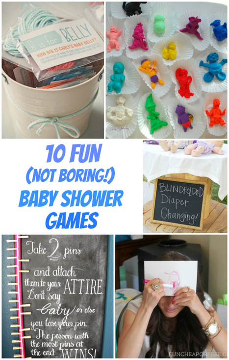 Fun baby shower games baby shower decoration for Baby decoration games