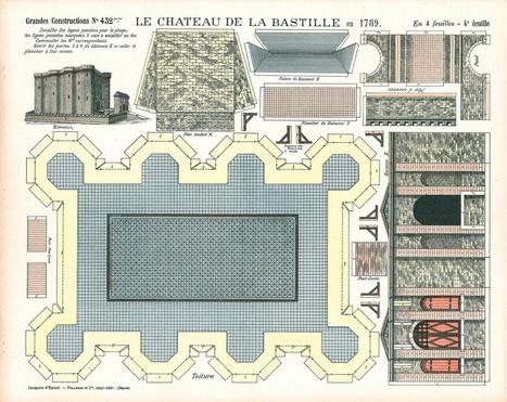 Construisez votre Bastille en papier | Remue-méninges FLE | Scoop.it