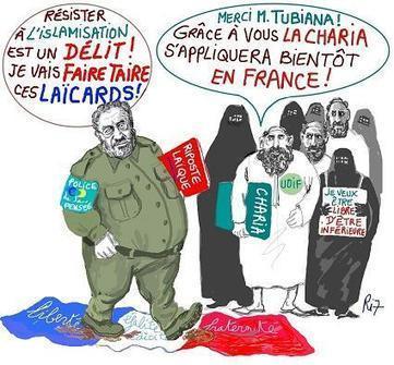 Le sergent Tubiana et la LDH me traînent encore au tribunal ! | Résistance Républicaine | Islam : danger planétaire | Scoop.it