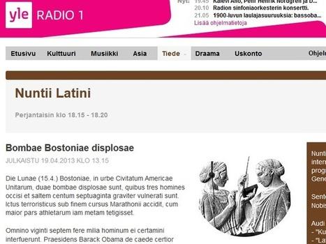 J'écoute la radio en latin. D'autres jouent bien au foot... - Rue89 | TICE et Lettres Classiques | Scoop.it