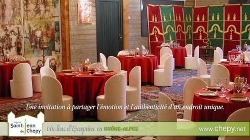 Organisation de séminaires, réceptions et mariages au Château du Domaine Saint JEan Chepy