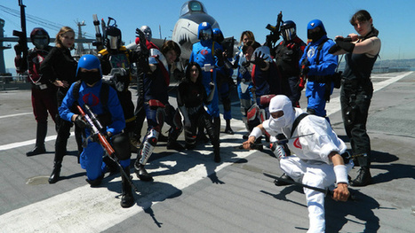 Seriously Amazing (and Funny) G.I. Joe Cosplay on a Real Aircraft Carrier | Cosplay News | Scoop.it