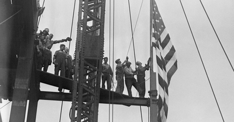 These Photos of the Empire State Building's Magnificent Construction Will Take Your Breath Away | New York When | Scoop.it