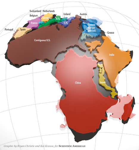 Africa Is Way Bigger Than You Think | LeCharm UK | Scoop.it
