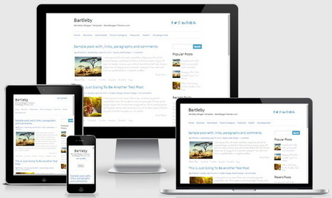 Bartleby Blogger Template | Blogger themes | Scoop.it