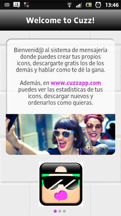 Cuzz App comunícate solo usando Stickers | El código Gutenberg | El código Gutenberg news | Scoop.it