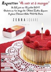 Expo A voir et à manger - Alexandre Dubosc - Hôtel Zebra Square PARIS - | Regards contemporains | Scoop.it