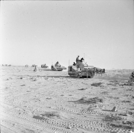 2nd November 1942: El Alamein – The British launch another attack | History Around the Net | Scoop.it