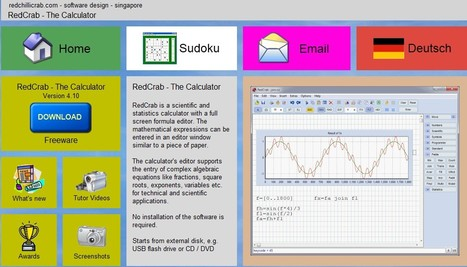RedCrab - The Calculator | 21st Century Tools for Teaching-People and Learners | Scoop.it