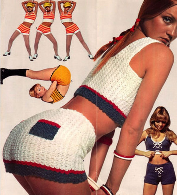 Hot pants fashions, 1970s. | Kitsch | Scoop.it