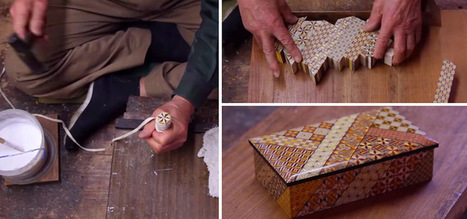 The Fine Art of Japanese Parquetry Using Razor-Thin Slices of ... | Art, Art Marketing, Art Market | Scoop.it