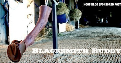 Wes Champagne's Blacksmith Buddy: A Life-like, Positionable Horse Leg Simulates Shoeing / Trimming for Training, Demonstration and Practice | Laminitis News | Scoop.it