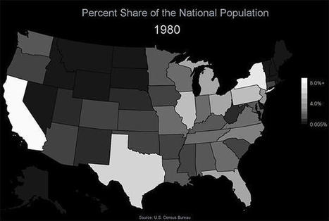 Fun With Census Data: U.S. Population Movement   IB LANCASTER GEOGRAPHY CORE   Scoop.it