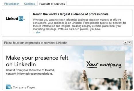 Bien utiliser LinkedIn - n°8 : la page entreprise - EZALYS | Outils et  innovations pour mieux trouver, gérer et diffuser l'information | Scoop.it