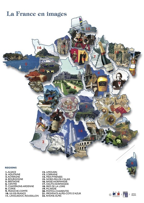 Le français et vous — La France en images | Oh la la | Scoop.it
