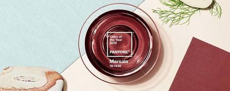 Marsala, un grand cru pour le Pantone 2015... - Frédérique Game | Design + Epublishing + Ebook + Graphisme | Scoop.it
