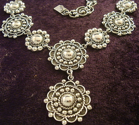 Momento Necklace - Mexican Silver Store | Taxco.925 Mexican Silver Store | Scoop.it