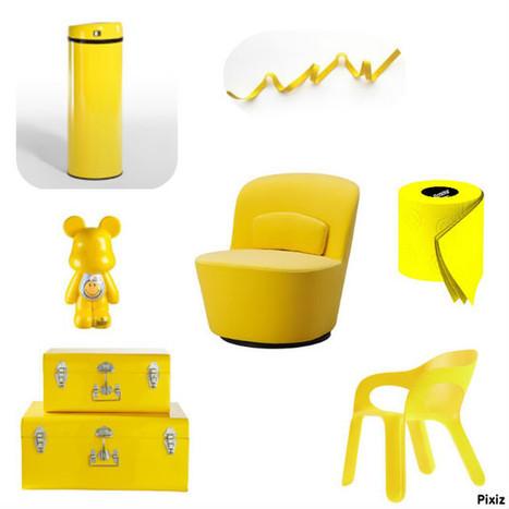 Du jaune pour ensoleiller ma journée! | Déco Design | Scoop.it