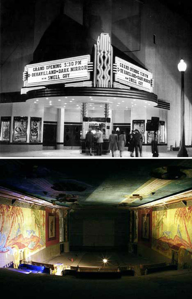 8 Aesthetically Awesome Abandoned Theaters: From Dusty Drive-Ins to Classic Cinemas | WebUrbanist | Artifacts | Scoop.it