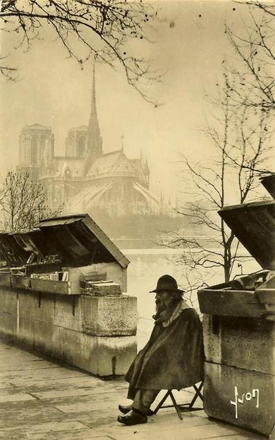 [Libraires] Histoire des bouquinistes des quais de Seine | Blog Paris Insolite | Communication - Edition_Mode Pause | Scoop.it