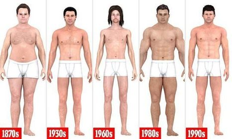 How the perfect male body has changed over 150 years | Kickin' Kickers | Scoop.it