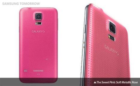 El Samsung Galaxy S5 se viste de rosa por partida doble | MSI | Scoop.it