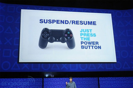 PlayStation 4's UI and inner workings detailed: No more booting, games ... - Engadget | Playstation 4 vs xbox 1 | Scoop.it
