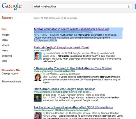 """How to Setup """"rel=author"""" So That You Appear In Google's Search Results 