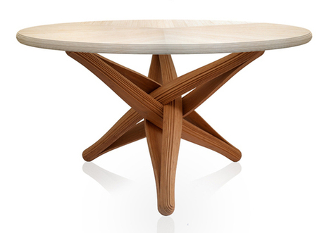 Lock - Bamboo Dining Table » Yanko Design | Eco-conception | Scoop.it