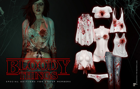 erratic / bloody things (maitreya) | 亗 Second Life Freebies Addiction & More 亗 | Scoop.it