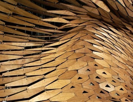 Aggregated Porosity Canopy: Digital Architecture Laboratory | ARCHIresource | Scoop.it