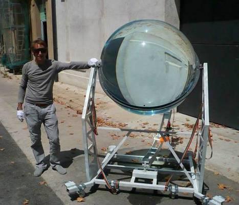 Un globo de vidrio esférico, para energía solar y lunar | tecnología industrial | Scoop.it