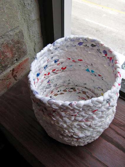 Cómo hacer cestos reciclando bolsas de plástico | ECOagricultor | tec3eso | Scoop.it