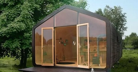 Modular microhome made of cardboard can last up to 100 years (Video) | Sustain Our Earth | Scoop.it
