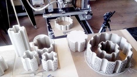 3ders.org - Dutch team VormVrij 3D create large 3D clay printer that can print functional ceramics | 3D Printer News & 3D Printing News | [In] Morph - Logic | Scoop.it