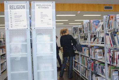Les livres religieux peinent à trouver une place dans les bibliothèques | Bibliothèques publiques | Scoop.it