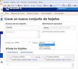 Tarjetas de repaso con quizlet - En la nube TIC | Edu-Recursos 2.0 | Scoop.it