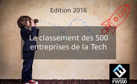 [FrenchTech] Le classement des 500 premières entreprises de la Tech française | Veille Pub Actu & Buzz | Scoop.it