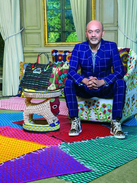 La Maison Rose x Christian Louboutin, la rencontre qui fait du bien | L'actualité de la filière cuir | Scoop.it