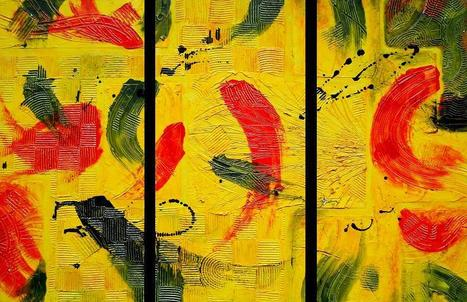 """Yellow, Green and Red"" by Patricia Quinche 