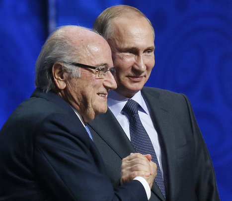 Putin Thinks FIFA's Sepp Blatter Deserves A Nobel Prize | Discover Sigalon Valley - Where the Tags are the Topics | Scoop.it
