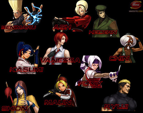 The King of Fighters Online to Kick Off Second Beta in Oct, Adding 10 New Playable Figthers - MMO Game News - MMOsite.com | The King of Fighters | Scoop.it
